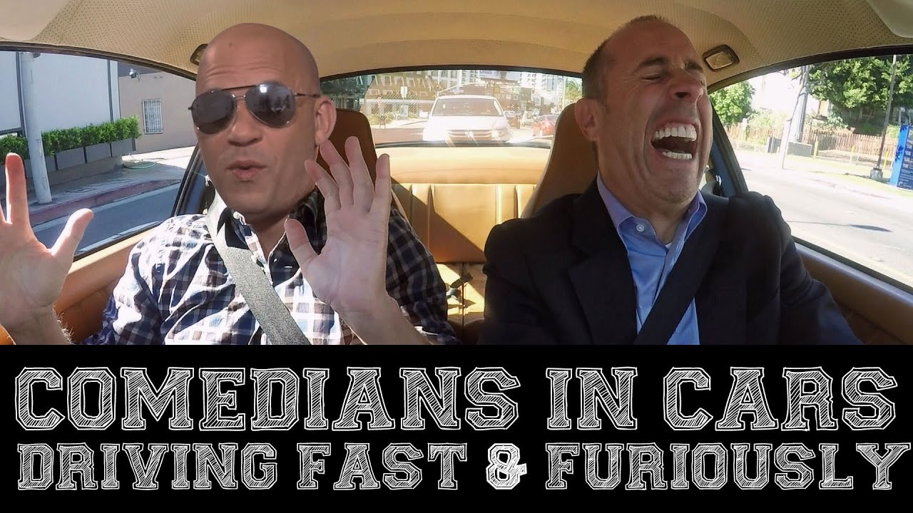 Seinfeld Driving In Cars With Comedians